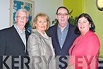HCT: The Hotel Castering Traning who put on a lavish meal for Eagle Trust Dinner at the HCT ITT North Campus, on Thursday night, L-r: Niall and Anne Hanbridge, John and Darina Kerriskl(Tralee)..