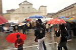 La visita del Papa a Torino in occasione dell'ostensione della Sindone.