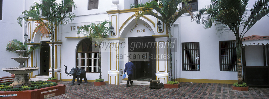 "Afrique/Afrique de l'Est/Tanzanie/Zanzibar/Ile Unguja/Stone Town: l'Hotel ""Tembo House Hotel"""