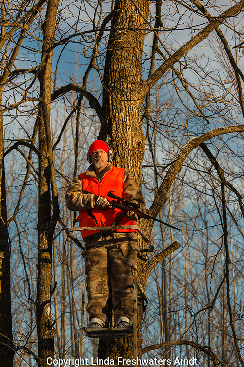 Wisconsin hunter with Browning X-Bolt in 300 WSM caliber