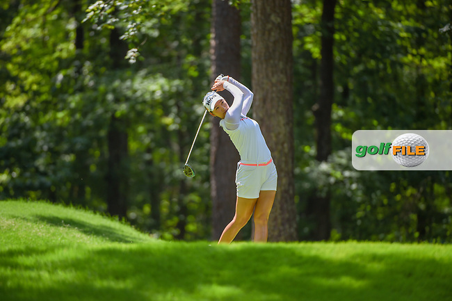 Chella Choi (KOR) watches her tee shot on 2 during round 3 of the U.S. Women's Open Championship, Shoal Creek Country Club, at Birmingham, Alabama, USA. 6/2/2018.<br /> Picture: Golffile | Ken Murray<br /> <br /> All photo usage must carry mandatory copyright credit (© Golffile | Ken Murray)