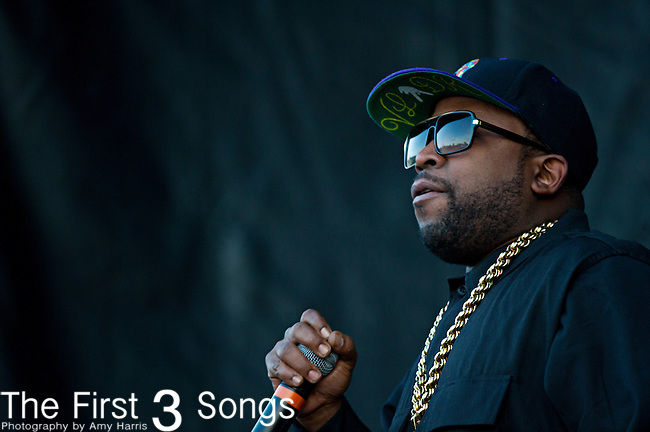 Big Boi (born Antwan Patton) performs during the The Beale Street Music Festival in Memphis, Tennessee.