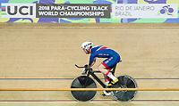 Picture by Alex Whitehead/SWpix.com - 21/03/2018 - Cycling - 2018 UCI Para-Cycling Track World Championships - Rio de Janeiro Municipal Velodrome, Barra da Tijuca, Brazil - Great Britain's Jon-Allan Butterworth.