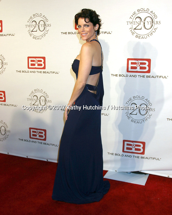 Lesli Kay.The Bold & The Beautiful 20th Anniversary Party.Two Rodeo Drive.Beverly Hills, CA.March 25, 2007.©2007 Kathy Hutchins / Hutchins Photo.