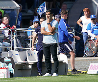 Trainer Dimitrios Grammozis (SV Darmstadt 98) - 15.09.2019: SV Darmstadt 98 vs. 1. FC Nürnberg, Stadion am Boellenfalltor, 6. Spieltag 2. Bundesliga<br /> DISCLAIMER: <br /> DFL regulations prohibit any use of photographs as image sequences and/or quasi-video.