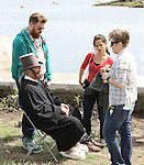 "Actor Christopher Lloyd on set in makeup - Shooting on May 1, 2011 - ""Excuse Me For Living"" - A Romantic Comedy - an Independent Film written, directed and produced by Ric Klass. (Photos by Sue Coflin/Max Photos)"