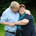The couple who scooped the £161million EuroMillions jackpot have today been named as Colin and Christine Weir - a retired pair from the small seaside town of Largs in Scotland. The husband and wife collected the bumper cheque which will see them enter the record books for Europe's largest ever lottery win. The couple, who have been married for 30 years, have two children and both suffer from disabilities, said it 'felt like a dream' to scoop the mega prize.