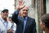 SAO PAULO, SP - 21.03.2017 - ALCKMIN-SP - O governador Geraldo Alckmin lan&ccedil;a o programa &quot;Agua Legal&quot; na manh&atilde; desta ter&ccedil;a-feira (21) na regi&atilde;o do M Boi Mirim, extremo sul de S&atilde;o Paulo. O programa consiste em levar &aacute;gua tratada a popula&ccedil;&atilde;o de regi&otilde;es carentes da cidade, evitando o n&uacute;mero de instala&ccedil;&otilde;es e distribui&ccedil;&otilde;es ilegais de &aacute;gua.<br /> <br /> (Foto: Fabricio Bomjardim / Brazil Photo Press)