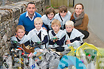 Pupils from Blennerville National School who collected rubbish around the area, from left: Sean Crowley, Terry OSullivan (principal), Cathal Concagh, Nicola Smith, Shane Howarth, Caitlin Kearney, Zac Howarth and Ms. Louise Brassil..