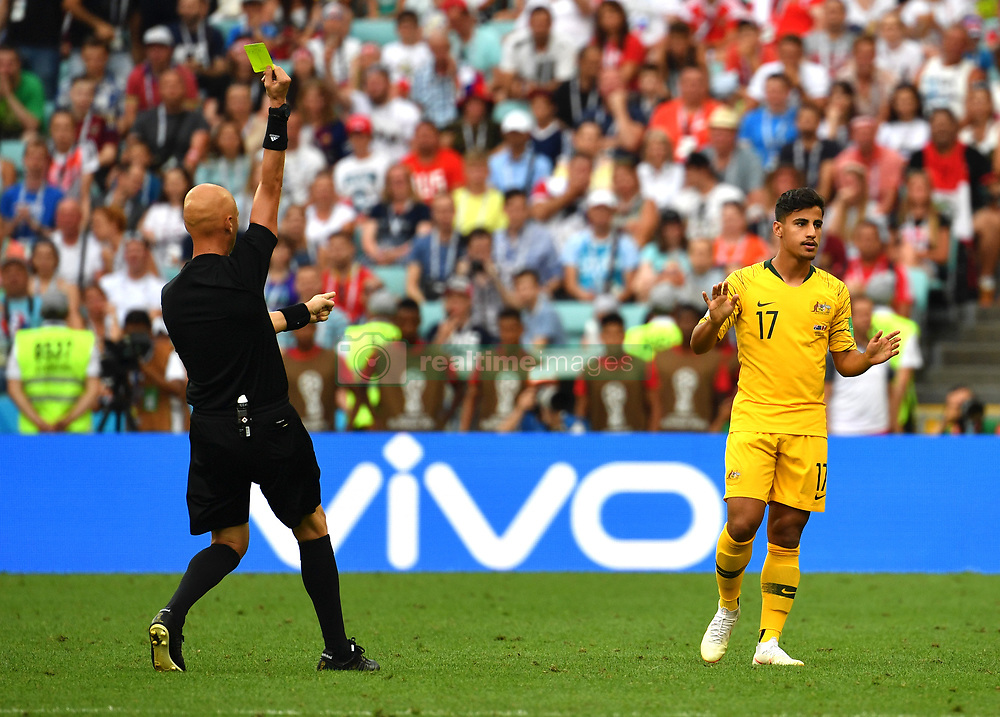 b7798f3b200c93 (SP)RUSSIA-SOCHI-2018 WORLD CUP-GROUP C-AUSTRALIA VS PERU | RealTime Images