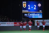 VOETBAL: LEEUWARDEN: 05-02-2014, Cambuurstadion, SC CAMBUUR - PSV, uitslag 1-2, ©foto Martin de Jong