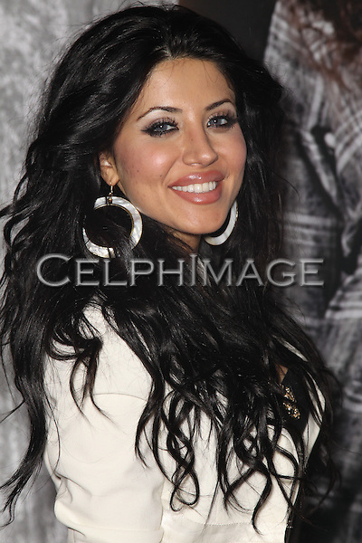 LEYLA MILANI. Malibu, California-based fashion brand Sjobeck previews its Fall 2010 collection at Fred Segal Trend. Santa Monica, CA, USA. March 19, 2010..