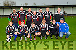 The Legends at the Joe Flynn Tralee Dynamos Legend Game in aid of  Kerry/Cork Link Bus on Sunday at Cahermoneen