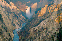 Lower Falls from Artists Point<br />