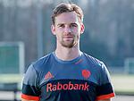 UTRECHT - Mirco Pruyser , in away / uit shirt speler Nederlands Hockey Team heren. COPYRIGHT KOEN SUYK