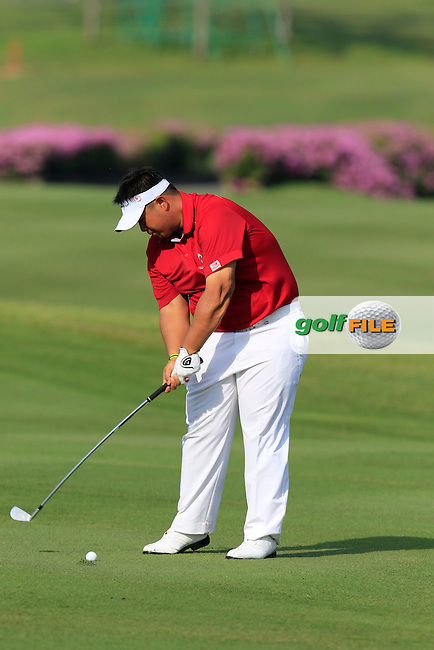 Kiradech Aphibarnrat (THA) Asian Team during Pro-Am Day of the 2016 Eurasia Cup held at the Glenmarie Golf &amp; Country Club, Kuala Lumpur, Malaysia. 14th January 2016.<br /> Picture: Eoin Clarke | Golffile<br /> <br /> <br /> <br /> All photos usage must carry mandatory copyright credit (&copy; Golffile | Eoin Clarke)