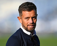 Aston Villa Legend Lee Hendry during Portsmouth vs Birmingham City, Caraboa Cup Football at Fratton Park on 6th August 2019