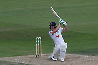 Daniel Lawrence hits 4 runs for Essex during Nottinghamshire CCC vs Essex CCC, Specsavers County Championship Division 1 Cricket at Trent Bridge on 13th September 2018