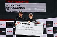 Porsche GT3 Cup Challenge USA<br /> Grand Prix of Alabama<br /> Barber Motorsports Park, Birmingham, AL USA<br /> Sunday 23 April 2017<br /> GT3 USA Race 2, Hard Charger Award<br /> World Copyright: Jake Galstad<br /> LAT Images<br /> ref: Digital Image galstad-BARBER-0417-40360