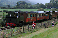 2018 08 18 Race the Train in Tywyn, Wales, UK