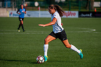 Kansas City, MO - Sunday September 3, 2017: Erica Skroski during a regular season National Women's Soccer League (NWSL) match between FC Kansas City and Sky Blue FC at Children's Mercy Victory Field.