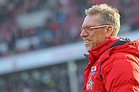 07.02.2015, RheinEnergieStadion, K&ouml;ln, GER, 1. FBL, 1. FC K&ouml;ln vs SC Paderborn, 20. Runde, im Bild Trainer Peter Stoeger (1. FC Koeln) // during the German Bundesliga 20th round match between 1. FC Cologne and SC Paderborn at the RheinEnergieStadion in K&ouml;ln, Germany on 2015/02/07. EXPA Pictures &copy; 2015, PhotoCredit: EXPA/ Eibner-Pressefoto/ Schueler<br /> <br /> *****ATTENTION - OUT of GER***** <br /> Football Calcio 2014/2015<br /> Bundesliga Germania<br /> Foto Expa / Insidefoto