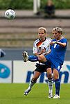 Melania Gabbiadimi, Babett Peter, QF, Germany-Italy, Women's EURO 2009 in Finland, 09042009, Lahti Stadium.