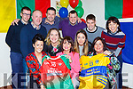 Kilcummin and Glenflesk GAA clubs have joined forces for A Night at the Oskars which was launched in Kilcummin on Sunday evening front row l-r: Aileen Moriarty, Niamh Dwyer, Cathy O'Leary. Back row: Muiris Healy, Shane O'Callaghan, Donal Dwyer, Derry Healy, Emma Looney, Damian O'Leary and Mish O'Donoghue