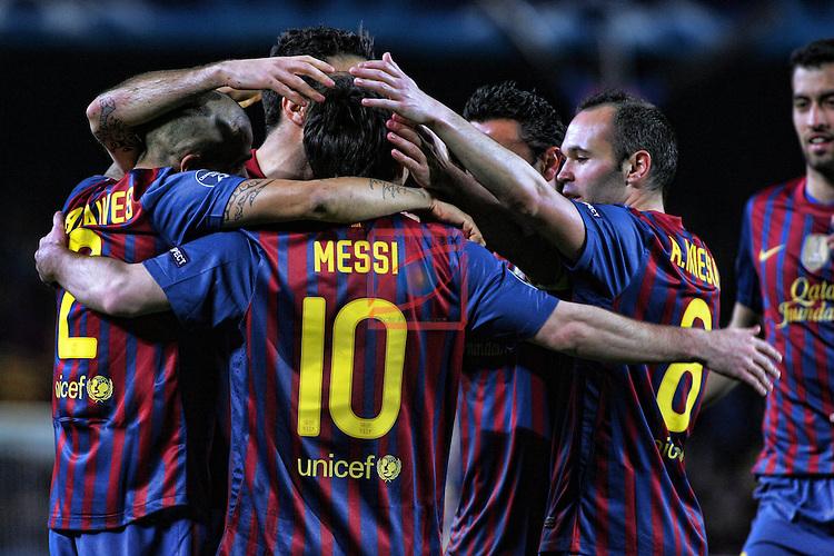 FC Barcelona vs Bayern Leverkusen: 7-1 - UEFA Champions League 2012 - Octavos Final.