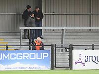 Blackpool fans enjoy the pre-match atmosphere <br /> <br /> Photographer Kevin Barnes/CameraSport<br /> <br /> Emirates FA Cup First Round - Exeter City v Blackpool - Saturday 10th November 2018 - St James Park - Exeter<br />  <br /> World Copyright &copy; 2018 CameraSport. All rights reserved. 43 Linden Ave. Countesthorpe. Leicester. England. LE8 5PG - Tel: +44 (0) 116 277 4147 - admin@camerasport.com - www.camerasport.com