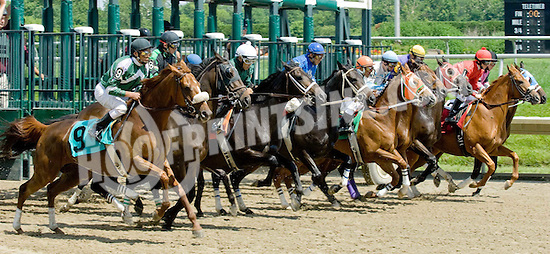 Tiz Next winning at Delaware Park on 6/14/09
