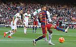 09.01.2016 Camp Nou, Barcelona, Spain. La Liga day 19 march between FC Barcelona and Granada. Neymar take to take contyrol of the ball