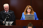 Nevada Assemblywoman Ellen Spiegel, D-Henderson, leads the daily prayer during the Assembly floor session at the Legislative Building in Carson City, Nev., on Tuesday, March 3, 2015. <br /> Photo by Cathleen Allison