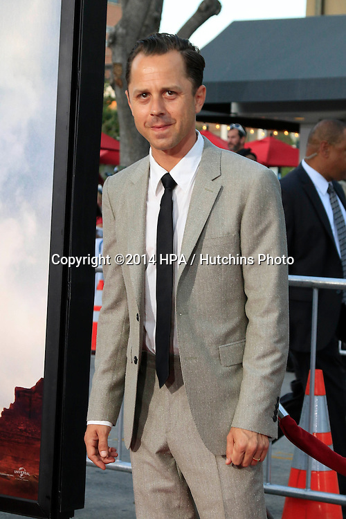 """LOS ANGELES - MAY 15:  Giovanni Ribisi at the """"A Million Ways To Die In The West"""" World Premiere at Village Theater on May 15, 2014 in Westwood, CA"""