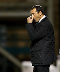 "Hibs manager Colin Calderwood ""Nose"" he is in for a stinker as the match heads into extra time"