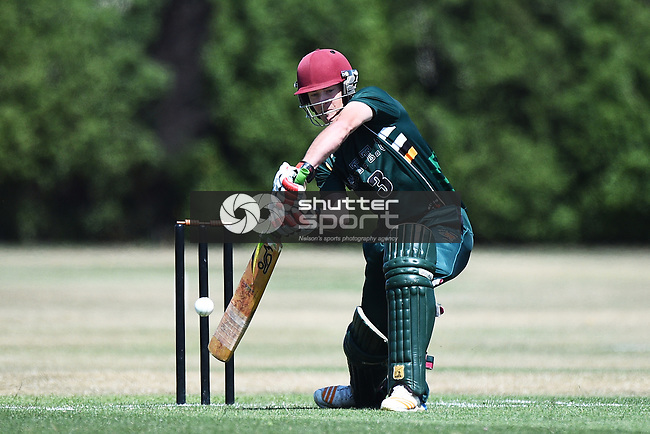 NELSON, NEW ZEALAND - FEBRUARY 8: Premiership Cricket - WTTU v Wanderers. Saturday 8 February 2020. Jubilee Park, Richmond, New Zealand. (Photo by Chris Symes/Shuttersport Limited)