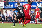 20.07.2019, Heinz Detmar Stadion, Lohne, Interwetten Cup 1. FC Köln vs SV Werder Bremen<br /> <br /> im Bild / picture shows <br /> <br /> Niklas Moisander (Werder Bremen #18)<br /> Anthony Modeste (Koeln #27)<br /> Foto © nordphoto / Kokenge