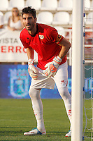Rayo Vallecano's David Cobeno during La Liga match.August 19,2013. (ALTERPHOTOS/Acero) <br /> Football Calcio 2013/2014<br /> La Liga Spagna<br /> Foto Alterphotos / Insidefoto <br /> ITALY ONLY