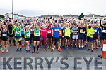 Ready for road at the starting line of the Kerins O'Rahilly's 10k Walk on Sunday morning last.