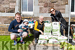 Patrick and Paddy Ban Brosnan, Maire Uí Léime and Grainne Brosnan at the Zero Waste stand during the NEWKD - An Diseart Family fun day in Dingle on Sunday.