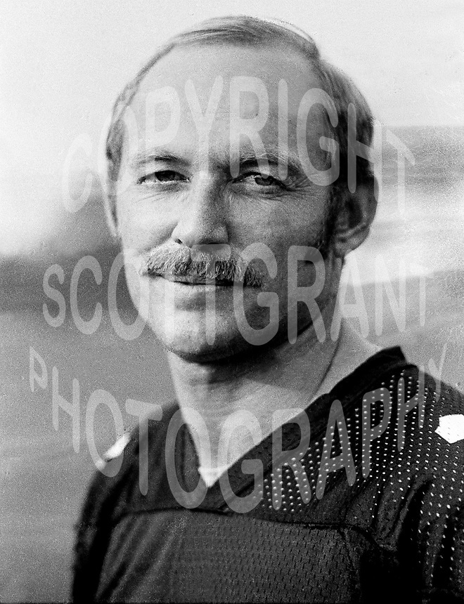 Jerry Keeling Ottawa Rough Riders quarterback 1972. Copyright photograph Ted Grant