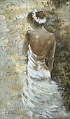 Addy, STILL LIFE STILLLEBEN, NATURALEZA MORTA, paintings+++++,GBAD123699,#i# ballet,young woman,