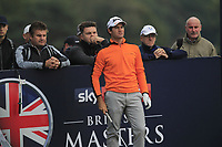 Ricardo Gouveia (POR) on the 12th tee during Round 1of the Sky Sports British Masters at Walton Heath Golf Club in Tadworth, Surrey, England on Thursday 11th Oct 2018.<br /> Picture:  Thos Caffrey | Golffile<br /> <br /> All photo usage must carry mandatory copyright credit (© Golffile | Thos Caffrey)