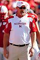 October 16, 2010: Nebraska Offensive Line Coach Barney  Cotton before the Texas game at Memorial Stadium in Lincoln, Nebraska. Texas defeated Nebraska 20 to 13.