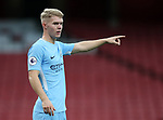 Manchester City's Jacob Davenport in action during the premier league 2 match at the Emirates Stadium, London. Picture date 21st August 2017. Picture credit should read: David Klein/Sportimage