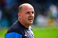 Wigan Athletic manager Paul Cook looks on<br /> <br /> Photographer Richard Martin-Roberts/CameraSport<br /> <br /> The EFL Sky Bet Championship - Preston North End v Wigan Athletic - Saturday 6th October 2018 - Deepdale Stadium - Preston<br /> <br /> World Copyright &not;&copy; 2018 CameraSport. All rights reserved. 43 Linden Ave. Countesthorpe. Leicester. England. LE8 5PG - Tel: +44 (0) 116 277 4147 - admin@camerasport.com - www.camerasport.com