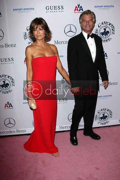 Lisa Rinna and Harry Hamlin<br /> at the 32nd Anniversary Carousel Of Hope Ball, Beverly Hilton Hotel, Beverly Hills, CA. 10-23-10<br /> David Edwards/Dailyceleb.com 818-249-4998