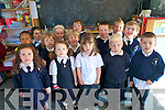 Pupils enjoying their first week at Blennerville National School last week.