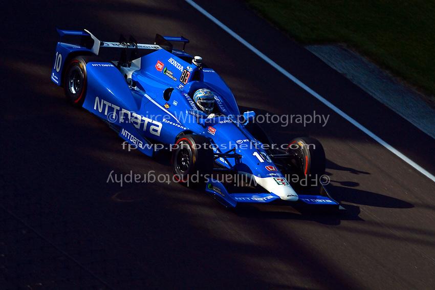 Verizon IndyCar Series<br /> Indianapolis 500 Practice<br /> Indianapolis Motor Speedway, Indianapolis, IN USA<br /> Monday 15 May 2017<br /> Tony Kanaan, Chip Ganassi Racing Teams Honda<br /> World Copyright: F. Peirce Williams