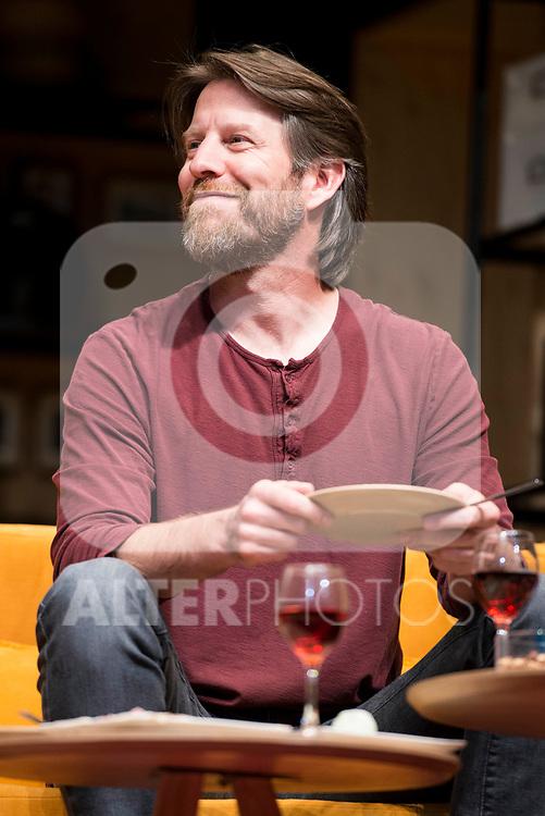 Andrew Tarbet during theater play of &quot;Los vecinos de arriba&quot; at Teatro Circulo de Bellas Artes in Madrid, April 25, 2017. Spain.<br /> (ALTERPHOTOS/BorjaB.Hojas)